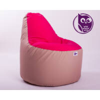 Drapp-Pink Babzsákfotel