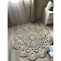 Vintage horgolt szőnyeg