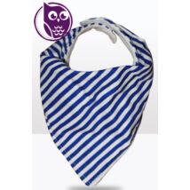 Kékcsíkos -vékony nyálkendő