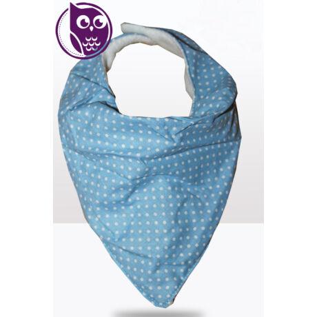 Kékpöttyös -vékony nyálkendő