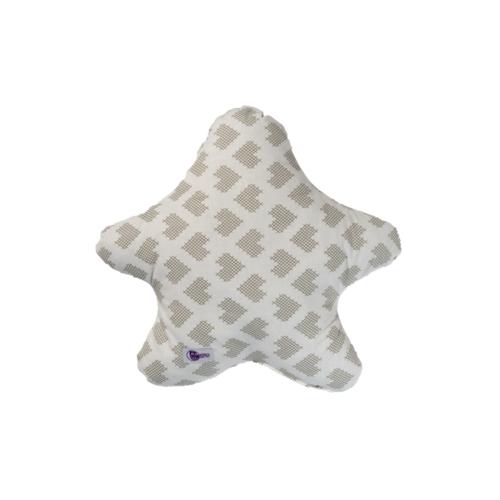 Csillagpárna - szívecskés