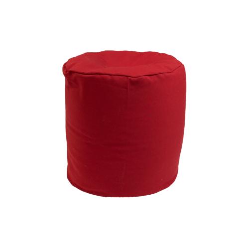 Babzsák puff -piros