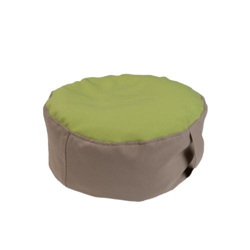 Babzsák ülőpárna -zöld