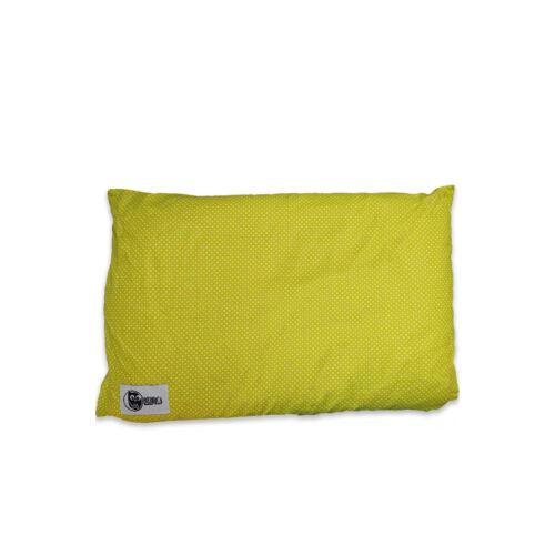 Tönköly alvópárna -zöldpöttyös 40x60 cm
