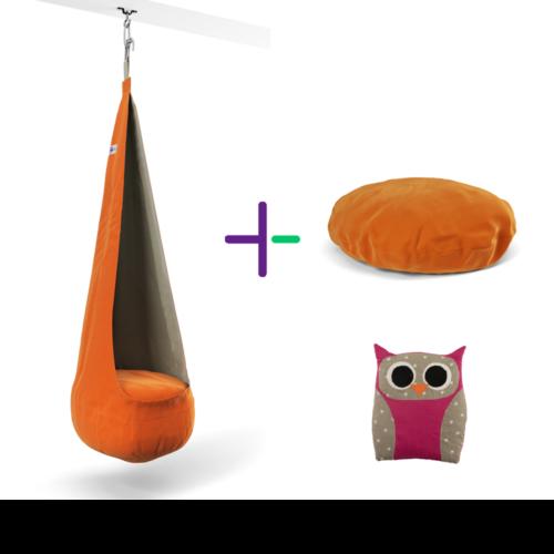 Narancs Palinta szett + ajándék sópárna
