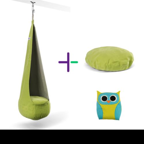 Zöld Palinta szett + ajándék sópárna