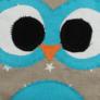 Kép 2/3 - Csillagos-kék kisbagoly Sópárna