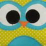 Kép 3/4 - Pöttyös-kék kisbagoly sópárna