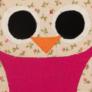 Kép 3/4 - Rózsaszín-virágos nagybagoly sópárna